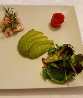 Avocado & Prawn Salad