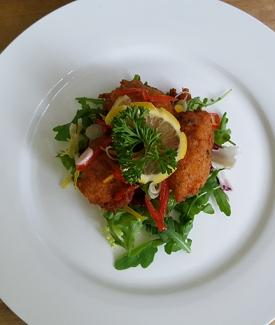 Fish Cake Salad